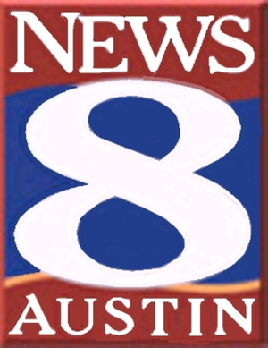 Spectrum News Austin - Logo as News 8 Austin used from 1999 to 2013.