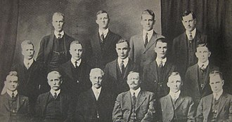 Omicron Delta Kappa - The fifteen founders of the Omicron Delta Kappa Society