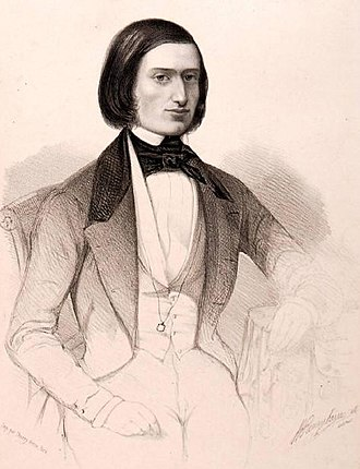 Jacques Offenbach - Offenbach in the 1840s
