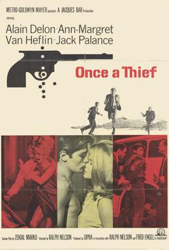 Once a Thief (1965 film) - Movie Poster