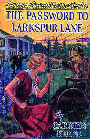 The Password to Larkspur Lane - Original edition cover