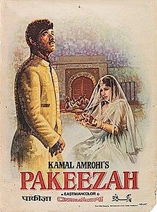 <i>Pakeezah</i> 1972 film by Kamal Amrohi