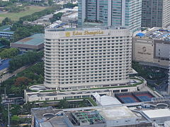 Ph=mm=mandaluyong=edsa=ortigas center=edsa shangri-la hotel - aerial shot from bsa twin towers -philippines--2015-0526--ls-.JPG
