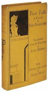 <i>Poor Folk</i> Novel by Fyodor Dostoyevsky