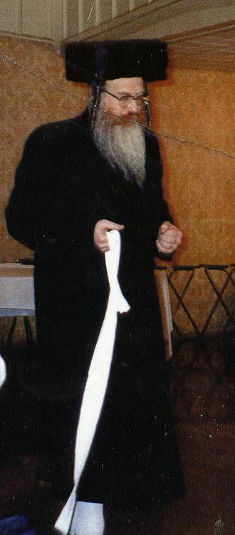 Cleveland (Hasidic dynasty) - Grand Rabbi Yehoshua Heshel Rosenbaum of Cleveland-New York Rebbe,