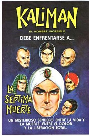 Mexican literature - Kaliman a Mexican comic book character