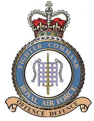 RAF Fighter Command - RAF Fighter Command badge