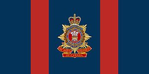 The Royal Regiment of Canada - The camp flag of the Royal Regiment of Canada.