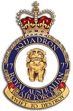 No. 77 Squadron RAAF - Image: Raaf 77sqn