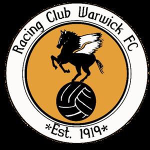 Racing Club Warwick F.C. - Image: Racing Club Warwick F.C. logo