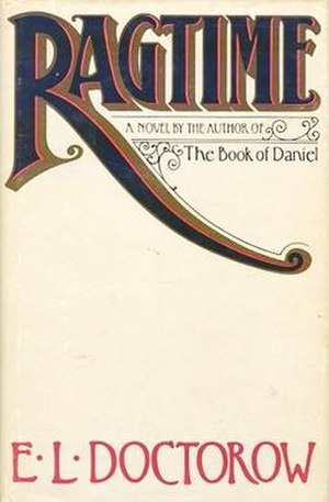 Ragtime (novel) - 1st edition cover