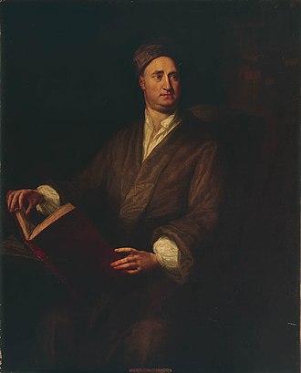 Nicolas Tindal - Rev Nicolas Tindal, a portrait by George Knapton