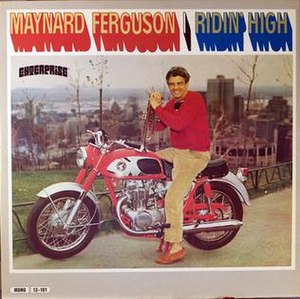 Ridin' High (Maynard Ferguson album) - Image: Ridin' High (Maynard Ferguson album)