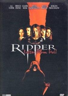 <i>Ripper</i> (film) 2001 film by John Eyres