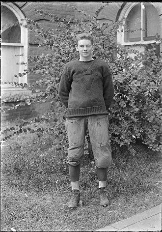 Robert Kent Gooch - Gooch in 1912