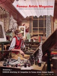 Famous Artists School American correspondence school