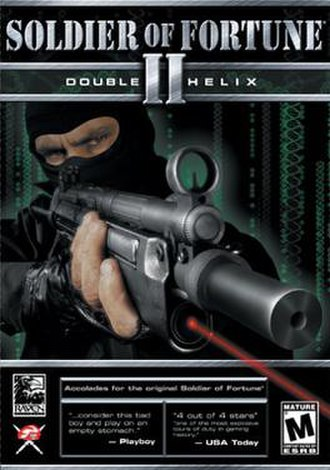 Soldier of Fortune II: Double Helix - Image: SOF2gamecover