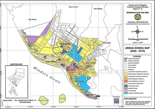 File:San Jose Mindoro Urban Zoning Map.jpg - Wikipedia