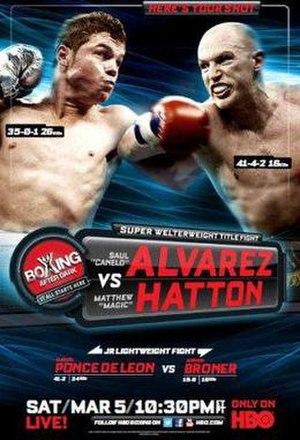 Saúl Álvarez vs. Matthew Hatton