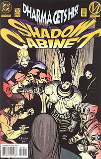 Shadow Cabinet (comics)