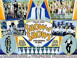 The Show of Shows - theatrical release poster