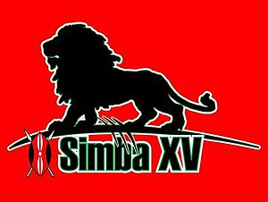 Kenya national rugby union team - The Simba XV logo