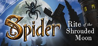 <i>Spider: Rite of the Shrouded Moon</i> puzzle video game
