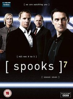 <i>Spooks</i> (series 7) seventh series of the BBC espionage television series Spooks