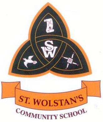 St. Wolstan's Community School - Image: St. Wolstan's Community School crest
