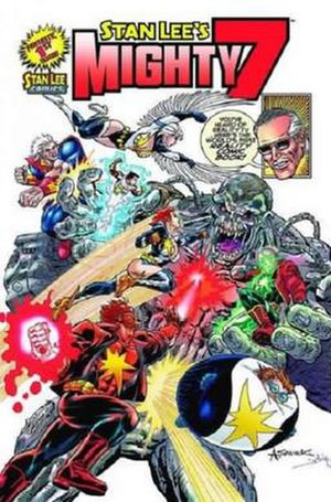 Stan Lee's Mighty 7 - Image: Stan Lee's Mighty 7 issue 1