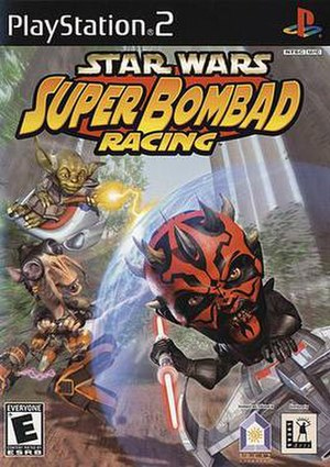 Star Wars: Super Bombad Racing - Image: Star Wars Super Bombad Racing boxart