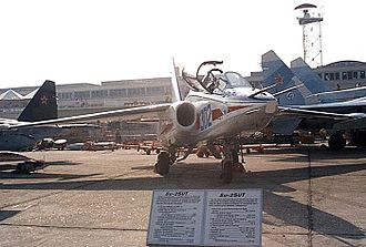 Sukhoi Su-28 - Sukhoi Su-28 on display.