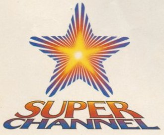 Movie Central - Early version of the Superchannel logo (used from 1983 to 1984), a later version of the logo showed the words 'First Choice' in the star.