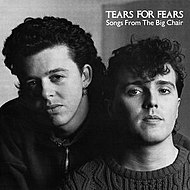Album cover of Songs from the Big Chair (1985); with Roland Orzabal (left) and Curt Smith.
