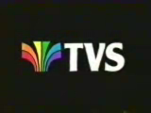 Television South - TVS original logo used 1982–1987
