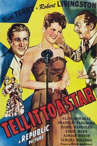 Tell It to a Star - Theatrical release poster