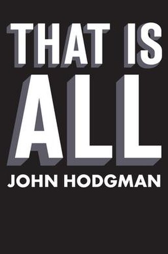 That Is All (book) - Image: That Is All