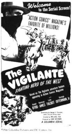 The Vigilante - Movie Poster
