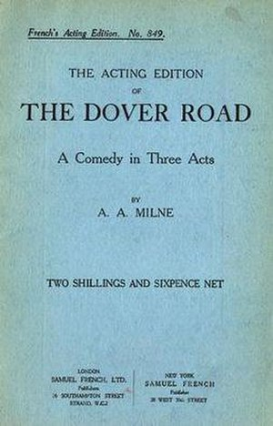 The Dover Road (play) - First published edition (publ. Samuel French, 1923)