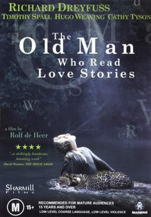 The Old Man Who Read Love Stories - DVD cover