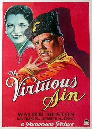 The Virtuous Sin - Original poster