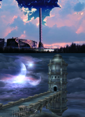 Ys (series) - Image: The Dahm Tower