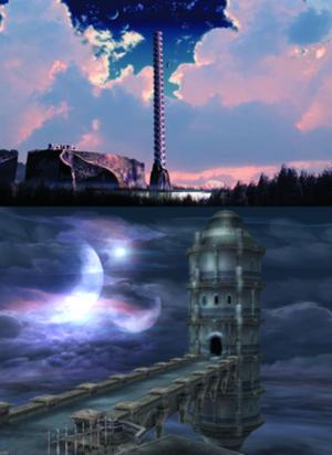Ys (series) - Image: The Dahm Tower