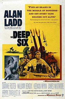 <i>The Deep Six</i> 1958 film