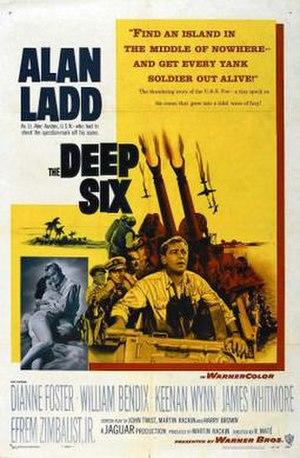 The Deep Six - Image: The Deep Six Film Poster