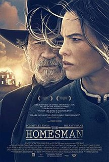 <i>The Homesman</i> 2014 film by Tommy Lee Jones