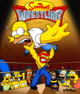<i>The Simpsons Wrestling</i> 2001 video game