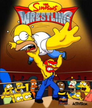 The Simpsons Wrestling - Image: The Simpsons Wrestling Coverart