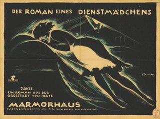 <i>The Story of a Maid</i> 1921 film by Reinhold Schünzel