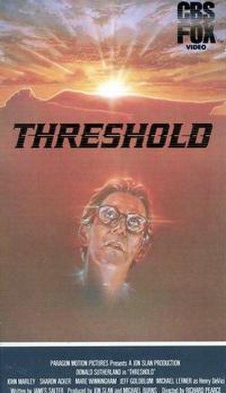 Threshold (1981 film) - Image: Threshold film cover